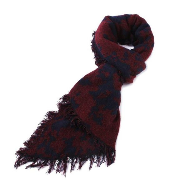 Warm Winter Shawls for Women - Dark Blue 1