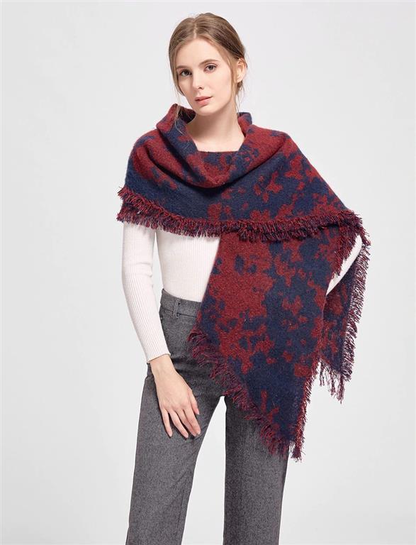 Warm Winter Shawls for Women - Model 6