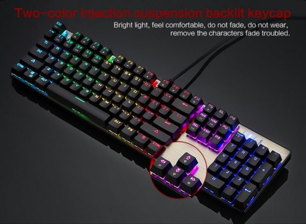 Wired Backlit Mechanical Gaming Keyboard - Suspension