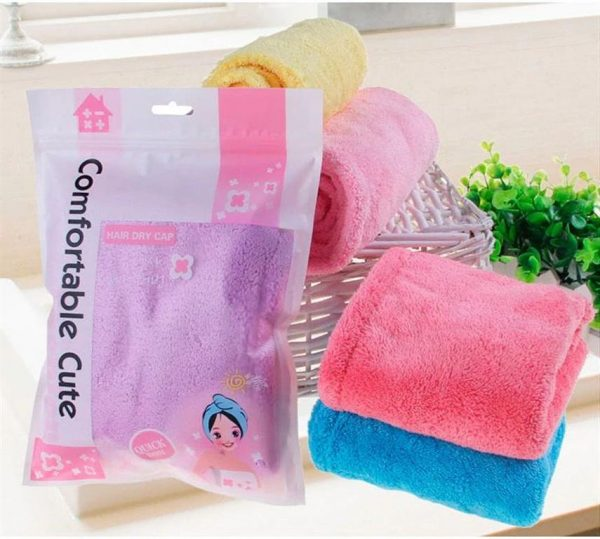 Women's Super Absorbent Quick-Drying Hair Towel - Package