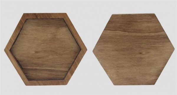 Wooden Jigsaw Puzzle - Geometric - 2