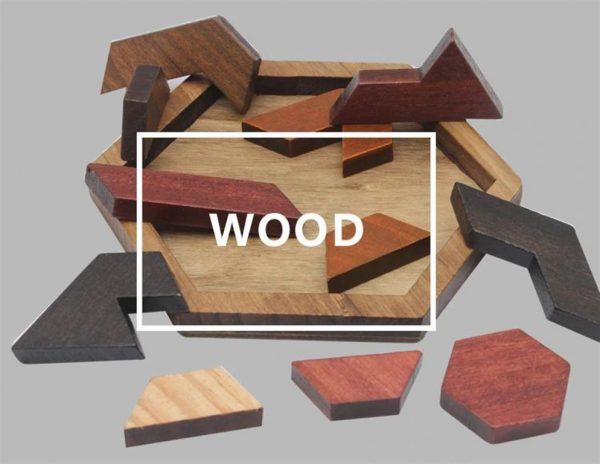Wooden Jigsaw Puzzle - Geometric - 3