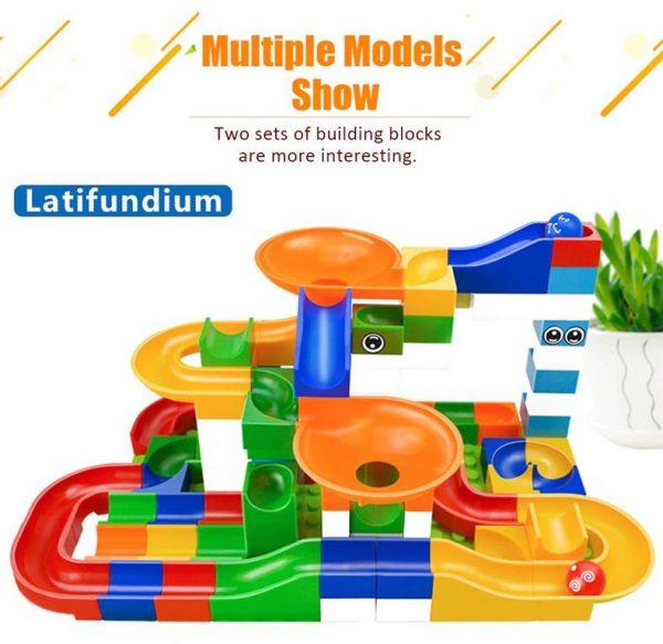 52 Piece Marble Maze Construction Set - Latifundium