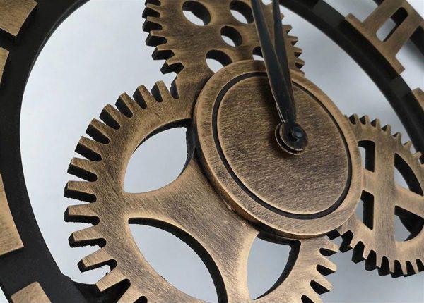 Antique 3D Wall Clock - detail