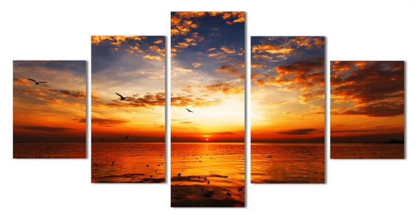 Beautiful Calming Seaview Canvas Wall Art - 1