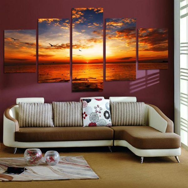 Beautiful Calming Seaview Canvas Wall Art - 2