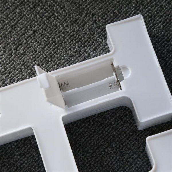 Luminous LED Letters - Battery