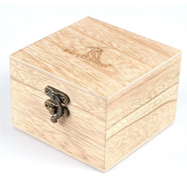 Men's Wooden Military Watch - Box