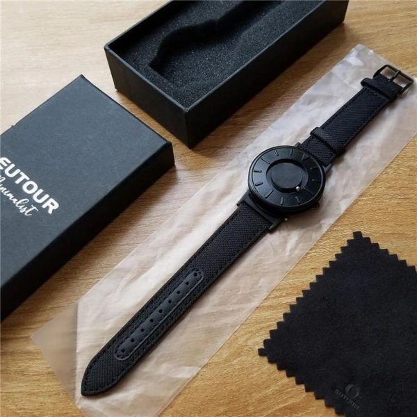 Minimalist Magnetic Ball Fashion Watch For Men - Length