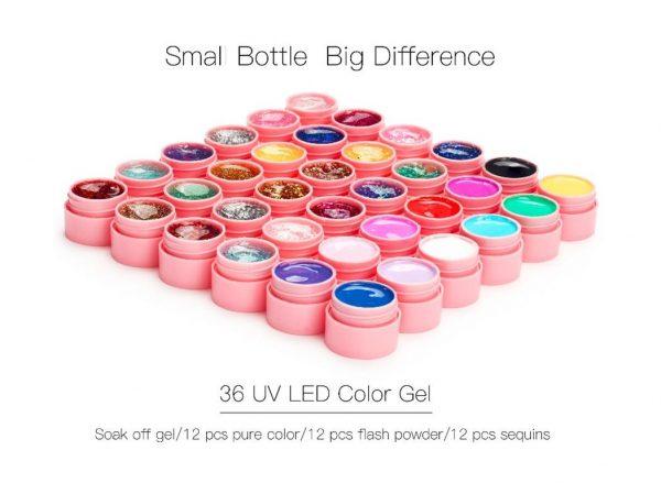 Nail Art Manicure Kit - Gels