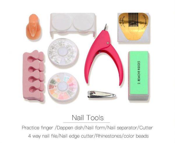Nail Art Manicure Kit - Tools