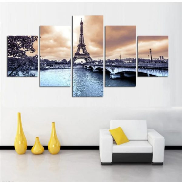 Paris Eiffel Tower Canvas Print - Model 2