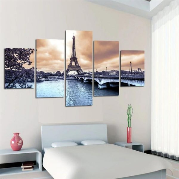 Paris Eiffel Tower Canvas Print - Model 3