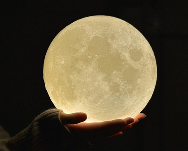 3D Night Light Moon Lamp - 1