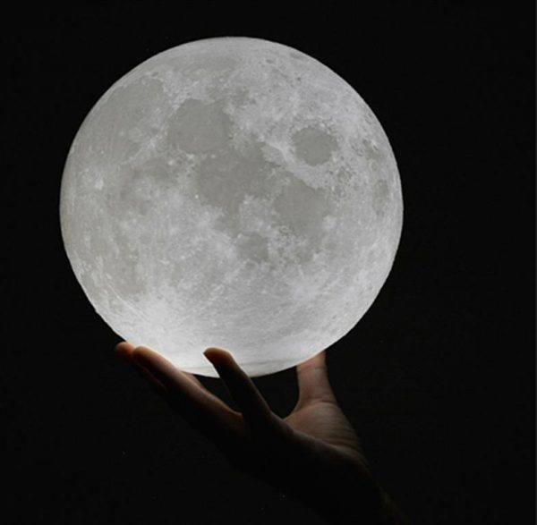 3D Night Light Moon Lamp - 2