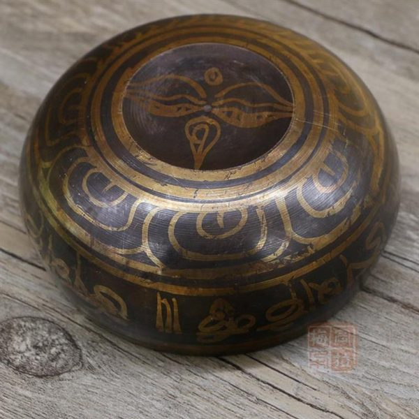 Decorative Tibetan Singing Bowl - sample2
