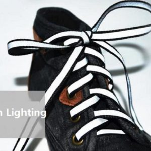 Luminous Glowing Shoelaces - white