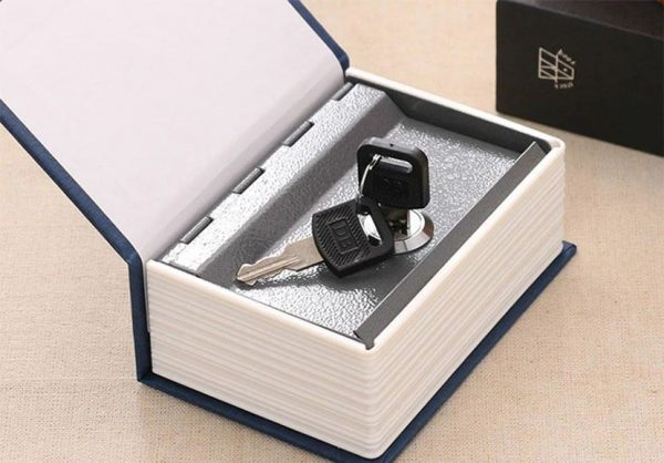 Mini Book Piggy Bank - keys