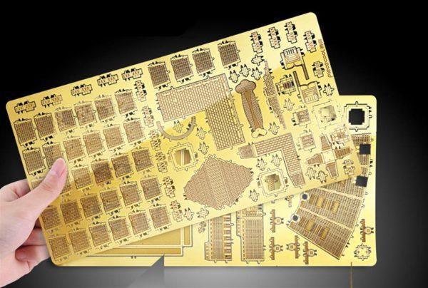 3D Metal Model Building Kits - Famous Buildings - Taipei