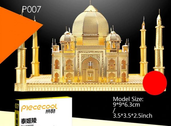 3D Metal Model Building Kits - Famous Buildings - Taj Mahal - 2