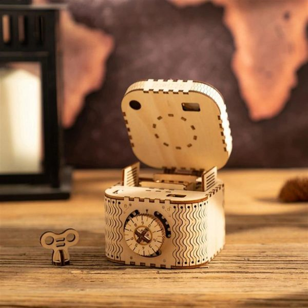 DIY 3D Treasure Box - 1