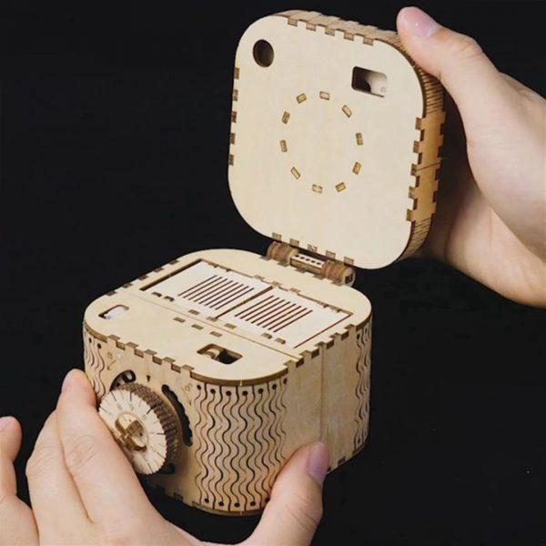 DIY 3D Treasure Box - 2
