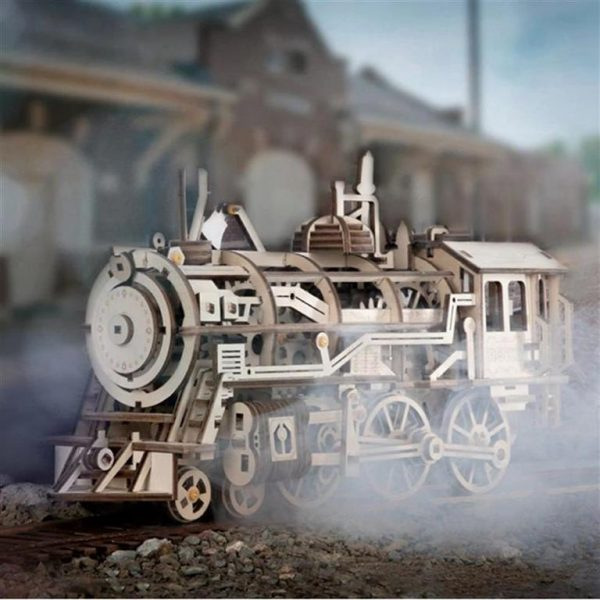 DIY 3D Wooden Train - 1