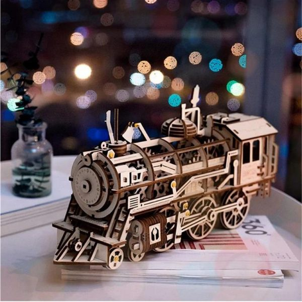 DIY 3D Wooden Train - 2