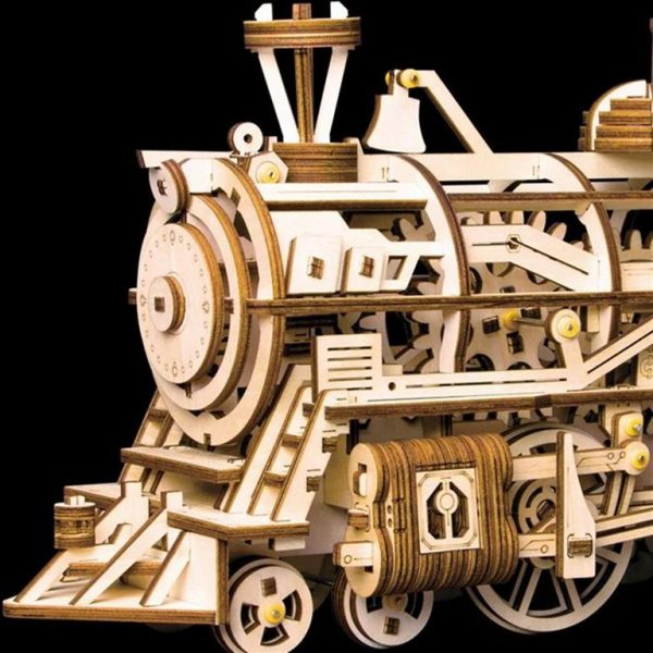 DIY 3D Wooden Train - 4