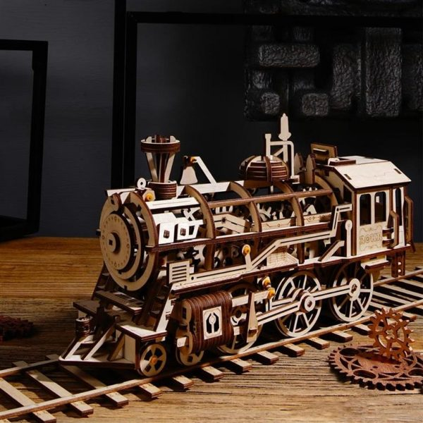 DIY 3D Wooden Train