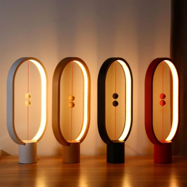 LED Night Light With Magnetic Balls Switch