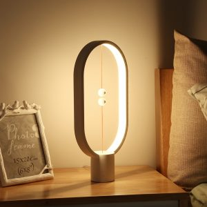 LED Night Light With Magnetic Balls Switch - Bedroom