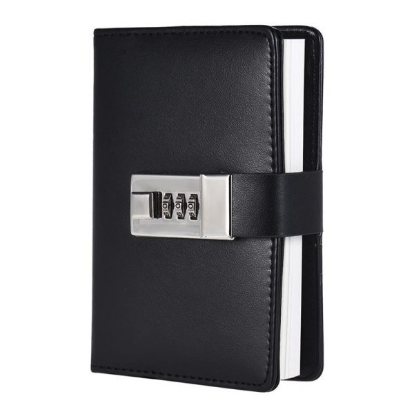 Notebook with Password Lock - Side