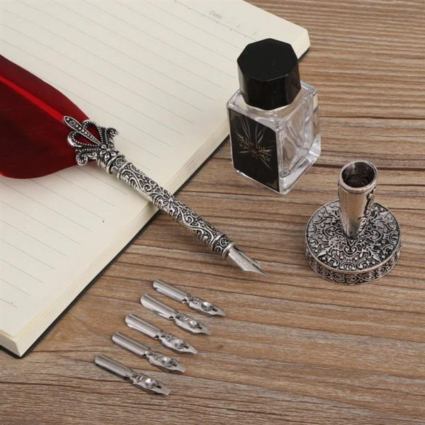 Quill Calligraphy Ink Pen Set - Set