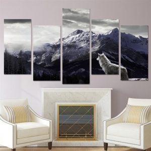 Canvas-Wall-Art-Nordic-Mountain-Landscape-3