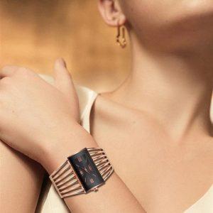 Rhinestone Bracelet Watch For Women - 8