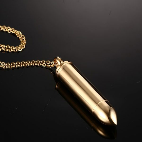 Bling Collection - Bullet Pendant For Men - 8