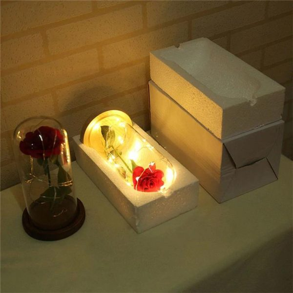 Enchanting LED Rose Flower - Package