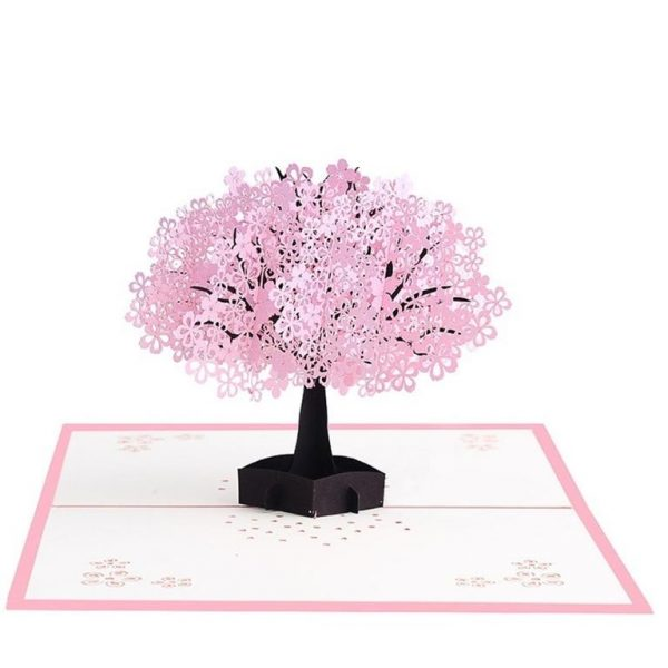 Mother's Day 3D Pop Up Cards - Cherry Tree (2)