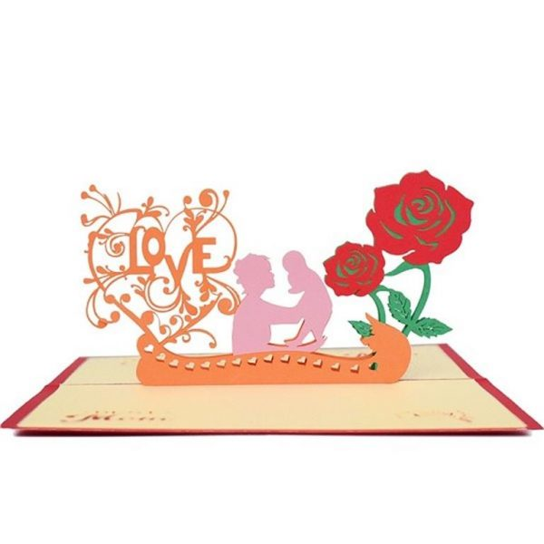 Mother's Day 3D Pop Up Cards - LOVE MOM