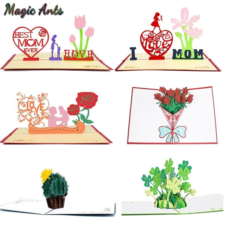 mother's day 3d pop up cards  the fabulous gift shop