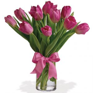 Precious Pink Tulips Flower Delivery