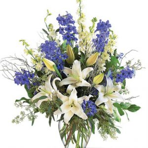 Sapphire Miracle Flower Delivery