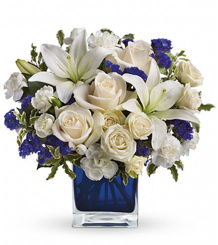 Sapphire Skies Bouquet Flower Delivery
