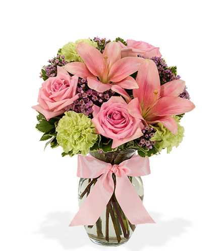 Thoughts of Pink Flower Delivery