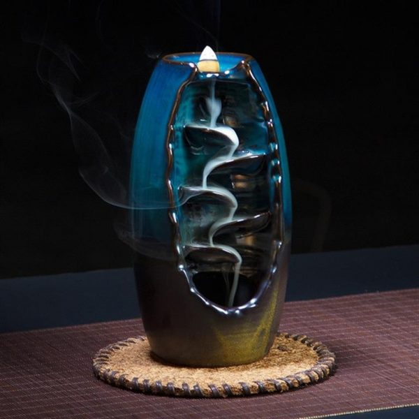 Cascading Backflow Incense Burner - main