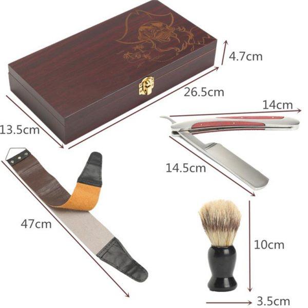 Classical Manual Shaving Kit - size