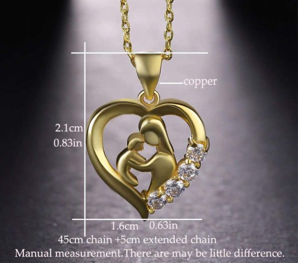 Cubic-Zirconia-Mom-and-Baby-Pendant-1