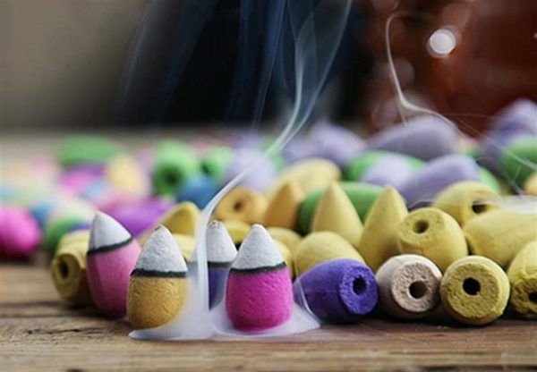 Natural-Fragrant-Incense Cones - 6