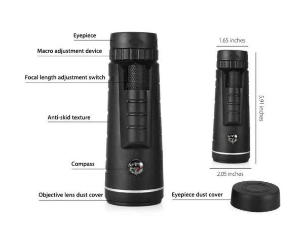 40X60 Monocular Telescope For Camera - Features2